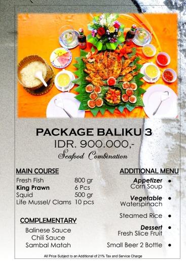 special package 2 orang B