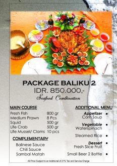 special Package 2 orang c